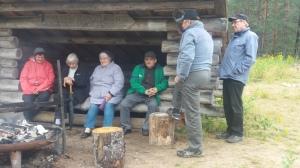 Laavuilta 18.8.2016. Laavulla keskusteltiin kylän asioista.