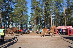 Ruskaretkellä olivat mukana myös Niinisalon ratsastajat.