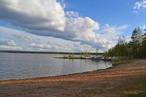 Valkiajärven uimaranta. Kuva: Kirsi Jaakkola